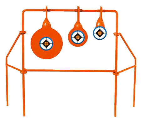 Do All Traps SS7022 Triple Spinner Target 22 Blue Reticle