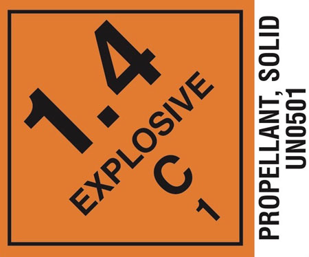 Hodgdon  LABEL14CP Propellant Labels 1.4C 1000
