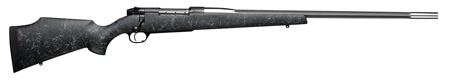 Weatherby MAMM340WR6O Mark V Accumark Bolt 340 Weatherby Magnum 26″ 3+1 Synthetic Blk w/Gray Spiderweb Stk