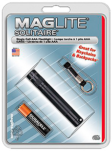 Maglite K3A016 Solitaire Incandescent Flashlight 3x.5