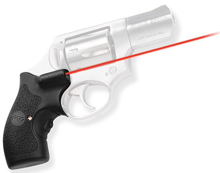 Crimson Trace LG111  Lasergrips Red Ruger SP101 .5″@50ft Blk Poly