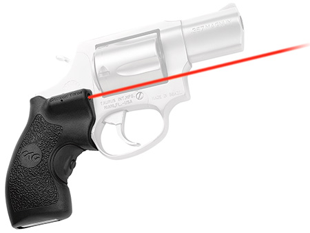 Crimson Trace LG185 Lasergrips Red Taurus Sm Frame 5mW .50″@50ft Blk Poly