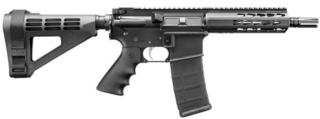 Bushmaster 90034 Square Drop Pistol AR Pistol Semi-Automatic 223 Remington/5.56 NATO 7