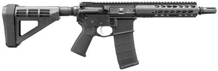 Bushmaster 90907 Square Drop Pistol AR Pistol Semi-Automatic 300 AAC Blackout/Whisper (7.62x35mm) 9.5
