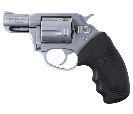 Charter Arms 73220 Undercoverette 32 H&R Mag 2″ 5rd Blk Rubber Grip Stainless