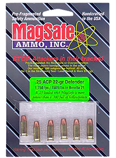 Magsafe 357D 357 Remington Magnum Pre-Fragmented Bullet 70 GR 10 Rds