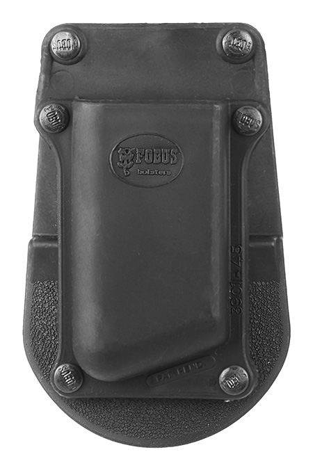 Fobus 390145 SNGL MAG Pouch Black Plastic