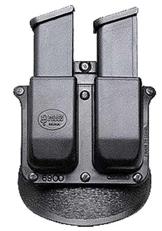 Fobus 6900RP DBL MAG Pouch 6900RP Standard Black Plastic