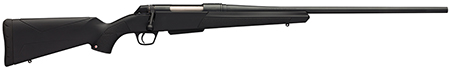 """Winchester Guns 535700264 XPR Bolt Action 270 WSM 24"""" 3+1 Synthetic Black Stk Blued"""
