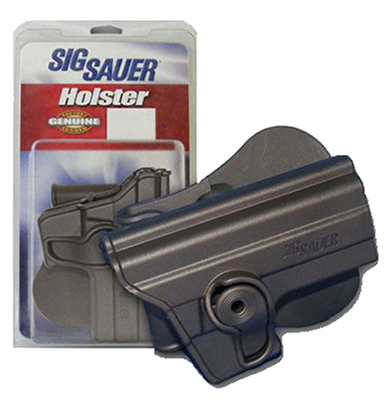Sig Sauer HOLRPR220BLK Paddle Holster P220 Rail Only Polymer Black