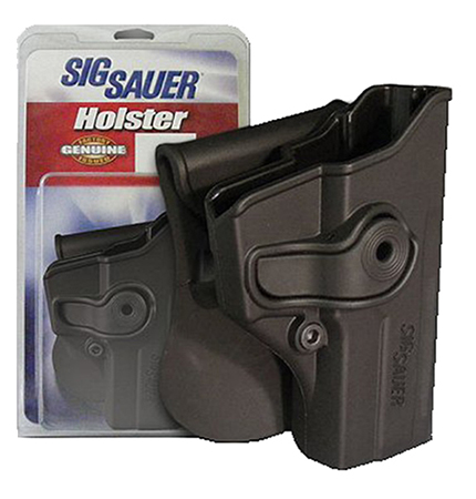 Sig Sauer HOLRPR250CBL Paddle Holster P250 Compact (Old Style) 9mm Polymer Black