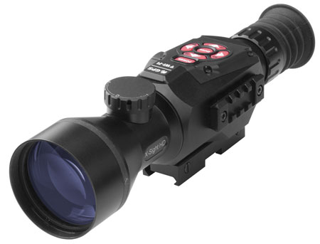 ATN X-Sight-II 5-20 Smart Day/Night Hunting Rifle Scope with Full HD Video rec, WiFi, GPS