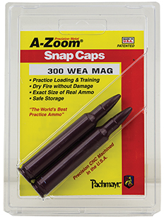 A-Zoom 12284 Snap Caps Rifle 300 Weatherby Magnum Aluminum 2 Pack