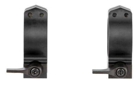 Warne 14TLM  Quick Release Tikka Medium 30mm Diameter Matte Black