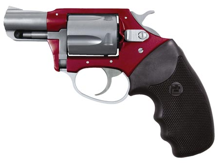 Charter Arms 53823 Undercover Lite 38 Special 2″ 5rd Blk Rubber Grip Red Alum/SS