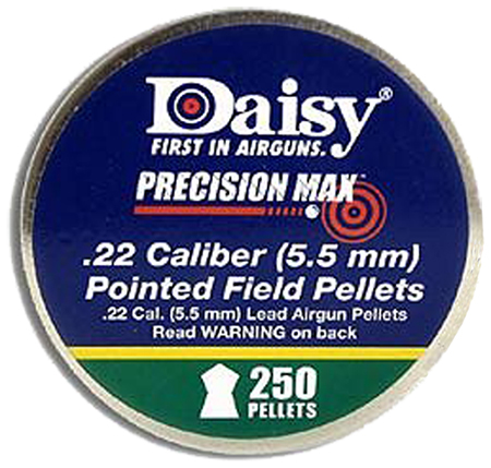Daisy 7922 PrecisionMax Pointed Field Lead Pellets  .22