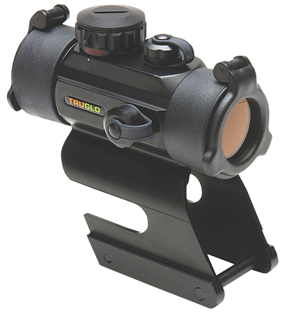 Truglo TG8030DBR Red Dot 1x 30mm Obj Unlimited Eye Relief 5 MOA Black