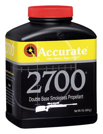 Accurate 2700 Rifle 1 lb 1 Canister