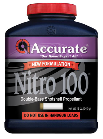 Accurate Nitro 100 Pistol/Shotgun 12 oz 1 Canister