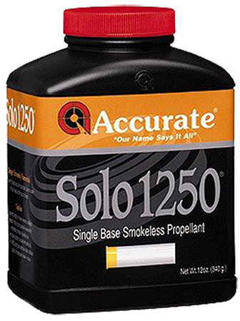 Accurate  Shotshell Powder Solo 12500 4 lbs 1 Canister