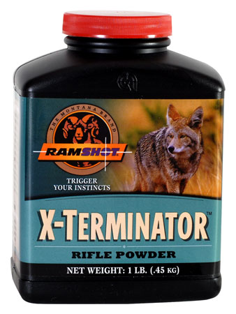 Accurate Ramshot X-Teminator Rifle 8 lbs 1 Canister