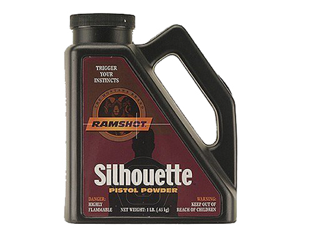 Accurate Ramshot Silhouette Handgun 4 lbs 1 Canister