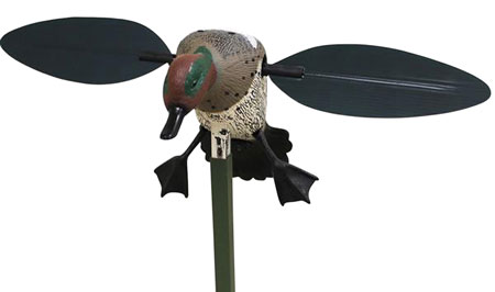 Mojo HW8101 Teal Decoy w/Support Pole