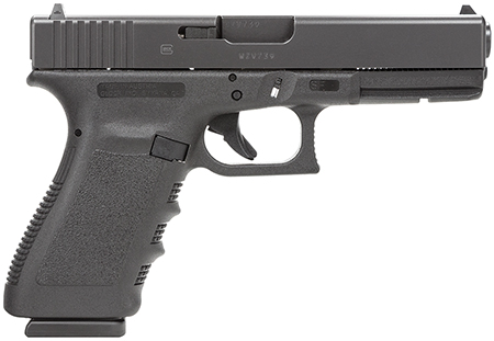 Glock PF2050201 G20SF 10mm 4.6″ 10+1 Fixed Sights Poly Grip/Frame Black