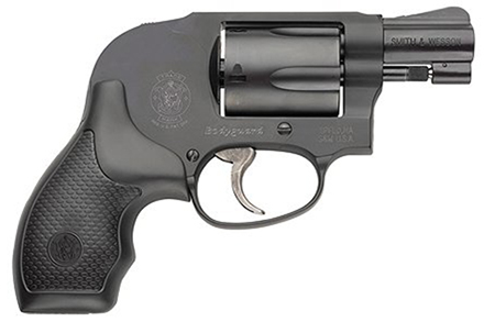 S&W 163438 438 Airweight Shrouded Hammer 38 Spl 1.87