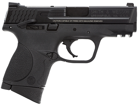 S&W 106303 M&P Compact 40 S&W 3.5″ 10+1 Ambi Safety Poly Grip/Frame Black