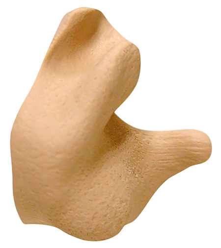 Radians CEP002T Custom Molded Earplugs Tan