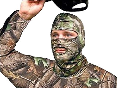 Primos PS6738 Face Mask Full Hood Cotton Realtree APG