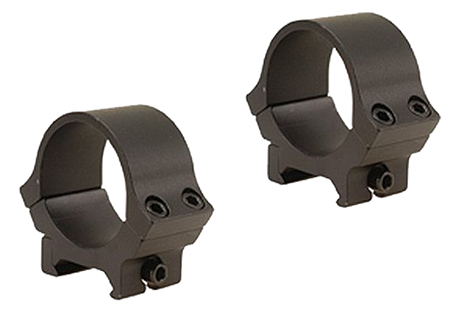 B-Square 20064 Sport Utility Ring Set 30mm Diam Medium Standard Dovetail Aluminum Black