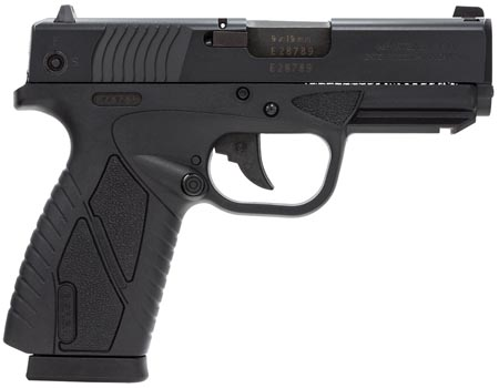 Bersa BP9MCC BPCC Concealed Carry DAO 9mm 3.3″ 8+1 Black Poly Grip/Frame Black