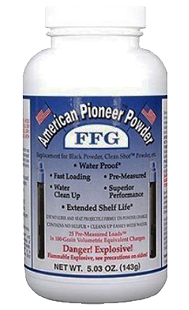 American Pioneer APP2FT Powder FFG/FFFG Pre-Measured Loads 5.03 oz 1