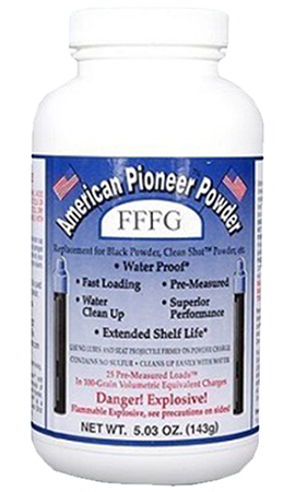 American Pioneer APP3FT Powder FFG/FFFG Pre-Measured Loads 5.03 oz 1