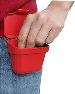 MTM ABP Ammo Belt Pouch Holds 100rds 22LR Poly Red