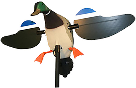 Mojo HW2107  Mallard Drake Decoy 6V Rechargeable Battery 4ft Support Pole