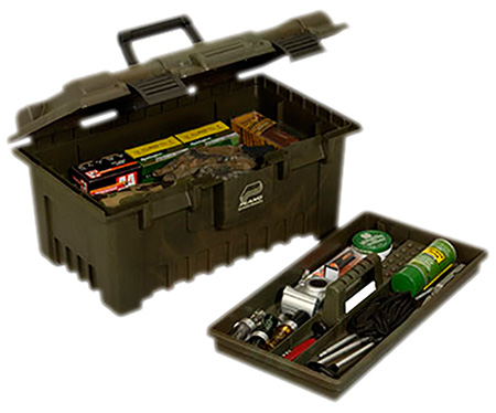 Plano 781030 Shooters Large Field Box Portable Plastic Camo