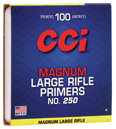 CCI 0015 Primer Large Rifle 10 Boxes of 100 Primer