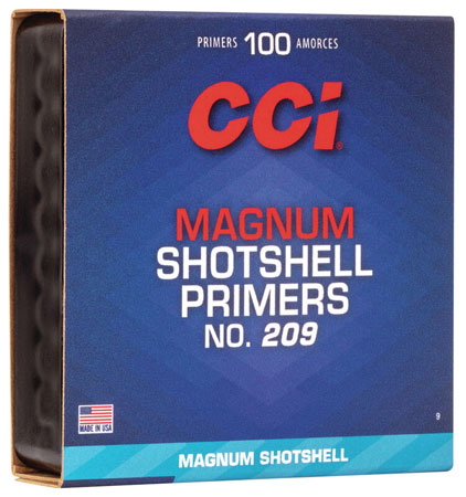 CCI 9 Primer 209M Shotshell 10 Boxes of 100 Primer
