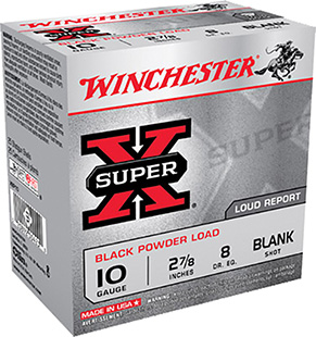 Winchester Ammo XBP10 Super-X Black Powder Blank 10 Gauge 3