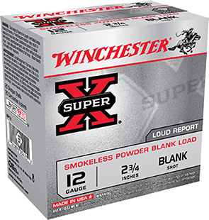Winchester Ammo XP12 Super-X Smokeless Blank 12 Gauge 2.75