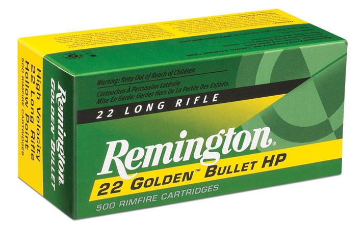 Rem Ammo 1622 22LR 36GR HV Plated Hollow Point 50Bx/100Cs