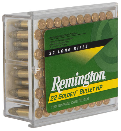 Rem Ammo 1600 22LR 36GR HV Plated Hollow Point 100Bx/50Cs