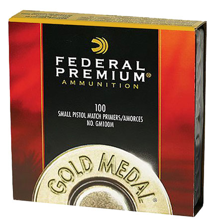 Federal GM100M Premium Primer Small Pistol Match 10 Boxes of 100