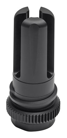 Advanced Armament 64143 Blackout Flash Hider 51T 7.62mm 5/8x24 tpi Aerospace Alloy Black Nitride 1.75