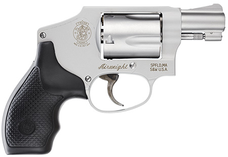 S&W 103810 M642 Airweight Internal Hammer No Lock 38 Spl 1.87″ 5rd Syn Grip SS