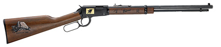 Henry H001TPM Philmont Scout Rifle Lever 22 20″ 22 S/L/LR Wal Stk Blued