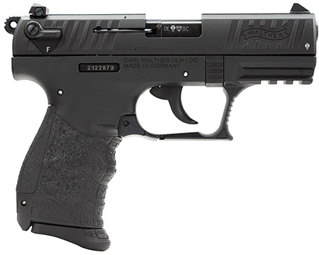 Walther QAP22003 P22 22 LR 3.4
